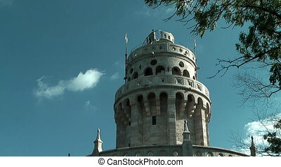 Belvedere Tower or Elisabeth Tower - Top of Belvedere Tower...