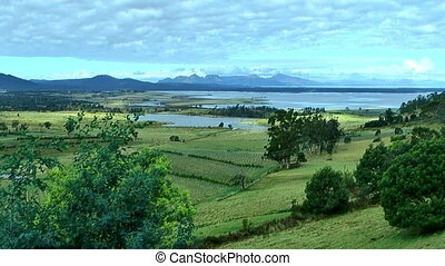 great oyster bay tasmania - view from great oyster bay...
