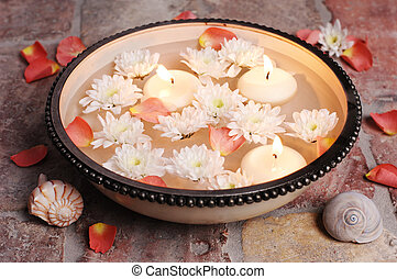 Decorative bowl for aromatherapy wellness, ZEN or whatever...