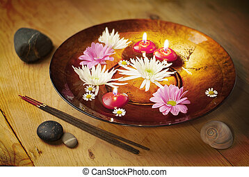 Decorative bowl for aromatherapy
