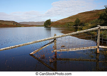 loch - Sightseeing of a loch in the Higlands in Scotland