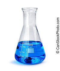 Laboratory glass beaker - Laboratory test glass container...