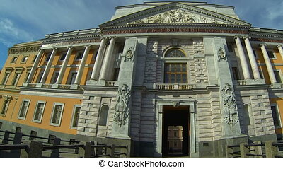 Mikhailovsky castle in St Petersburg - The Mikhailovsky...