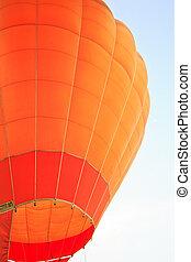 Colourful air balloon beautiful