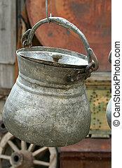 anticaglia, vaso, appendere
