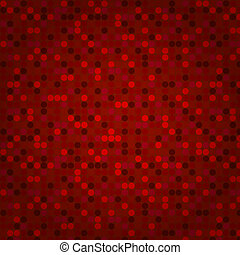 Red seamless mosaic background