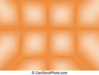 Abstract blur orange background