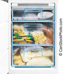 freezer - freezing chamber, products