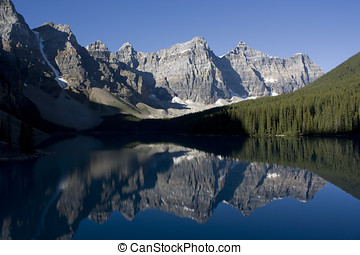 Banff National Park Lake Moraine