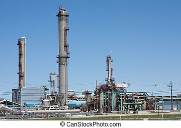 Petrochemical plant horizontal - Petrochemical treatment...