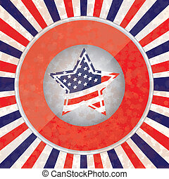 Patriotic background - Illustration Patriotic United States...