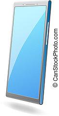 Modern vector smart phone