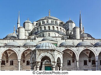 Sultan Ahmed Mosque, Istanbul - The Sultan Ahmed Mosque...
