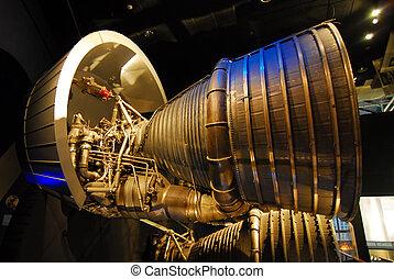 space rocket thrust engine