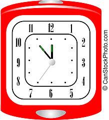 Vector illustration of alarm clock