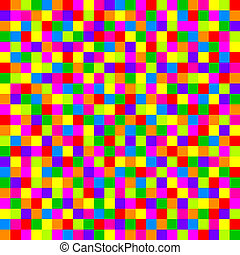 colorful checkered pattern - Vector colorful checkered...