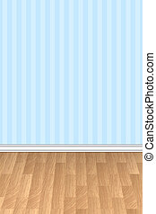 wall and floor background - Vector illustration of wall and...