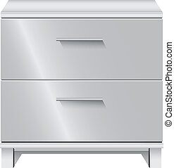 File Cabinet - Office furniture. Document storage with two...
