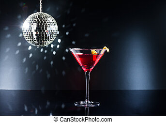 Cocktails on the dance floor - Cocktails on the disco dance...