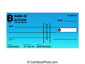BITCOIN CHEQUE