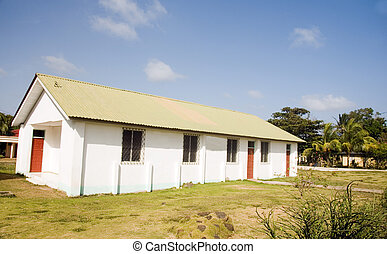Seventh Day First Adventist Church Big Corn Island Nicaragua...