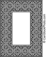 celtic border - vector ornamental celtic border