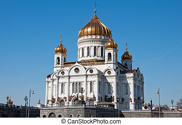 Cathedral of Christ the Savior. Moscow. landmark