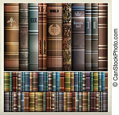 Book stack background - New book stacks color background,...