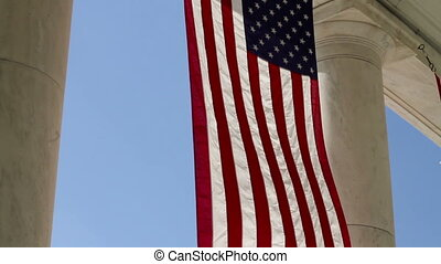 Arlington Amphitheater Flags One - Arlington National...