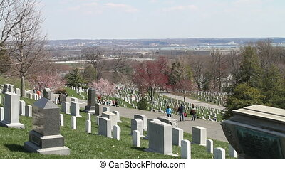 Arlington National Cemetery three