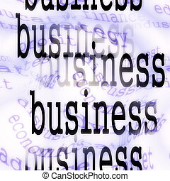 concept business background
