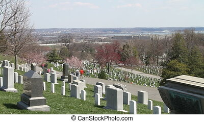 Arlington National Cemetery Time Lapse