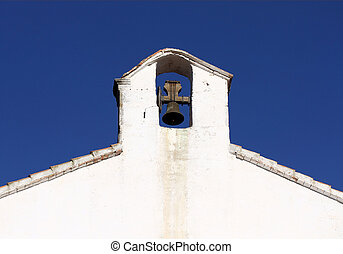 Belfry in spanish style in Alcossebre, Spain