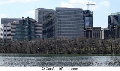 Arlington VA Rosslyn Skyline