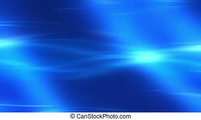 Blue Flowing Energy Loop