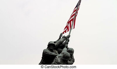 Iwo Jima Memorial Front facing