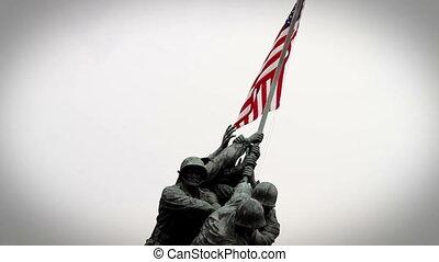 Iwo Jima Memorial vignette