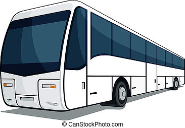 Bus - A vector image of a bus. This vector is very good for...