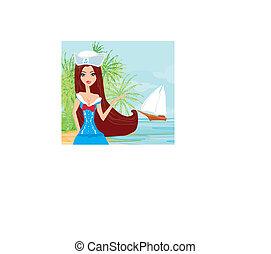 Sailor - pin-up girl