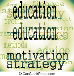 concept education word background