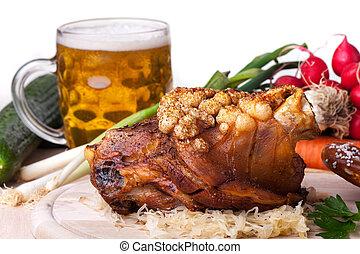 bavarian knuckle of pork