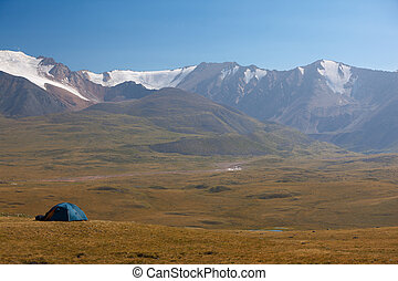Altai mountains Beautiful highland landscape Mongolia