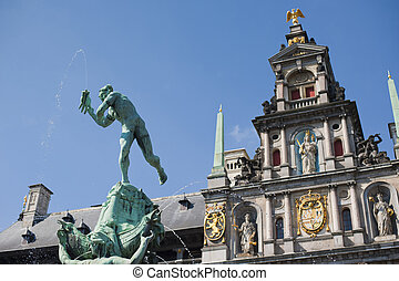 Great Market Square of Antwerp
