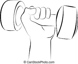 hand rising drum bell for exercise