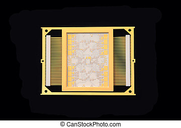 CPU chip - Workpiece housing microprocessor of ultra-high...