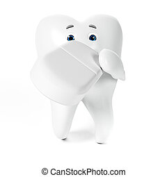 Funny tooth