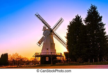 Kentish smock mill