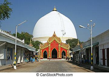 sagain, pagode,  Myanmar