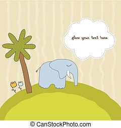 one little elephant