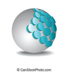 Sphere 3d design